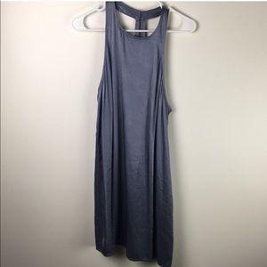Leith silk dress